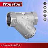 CF8m Y Grobfilter 800wog BSPT/Bsp/NPT