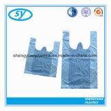 Sacs à provisions en plastique estampés excellente par qualité de T-shirt