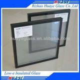 A poupança de energia baixa e painéis de vidro temperado