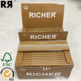 Un FSC plus riche et un GV et une FDA Brown papier de roulement de tabac de 14 GM/M