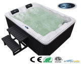 2 Leute Mini Small Outdoor Jacuzzi mit LED Bluetooth