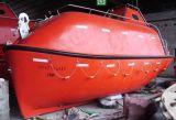 開いているSolasの承認の海兵隊員は販売のためのタイプ救命ボート、レスキュー救命ボートを囲み、