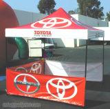 10X10FT Outdoor Portable Pop Up Canopy Display Tente pliante en aluminium