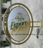 Casella di illuminazione acrilica esterna termoformata di vuoto