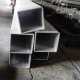 Tubo cuadrado de aluminio usado para los muebles
