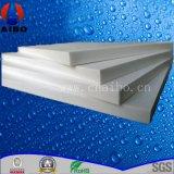 2015 feuilles solides blanches de HDPE de panneau de mousse de PVC d'étalage de qualité