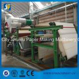 Papier de toilette de tissu à échelle réduite faisant le prix de machine