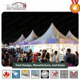 판매를 위한 쉬운 위 대중 음악 전망대 Pagoda 디자인 고산 천막