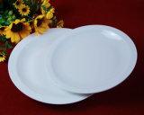 De witte Platen van het Diner van het Porselein van de Kleur Ceramische