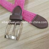 Розовый цвет экранирующая оплетка не оставляющей волокон эластичную ленту ремня безопасности