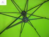 nouveau parasol accrochant accrochant de parapluie de mur de parapluie de parapluie extérieur de parapluie de jardin de parapluie de mur de 10ft