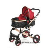 Carrinho de Tracção Incorporada para bebé de exportação da China e o novo modelo carrinho de bebé Strolley Bebé