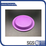 Placa plástica descartável para utensílios de mesa do alimento