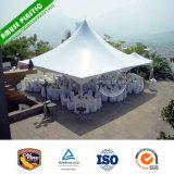 10X10 de op zwaar werk berekende Witte Tent van de Luifel van de Sporten van de Schaduw Pop omhooggaande met Kanten voor Verkoop