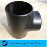 Instalación de tuberías de acero de carbón que reduce la te B16.9
