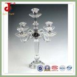 Suporte para velas de cristal para decoração doméstica