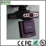 """LCD de 2,4"""" HD CMOS 5.0MEGA720p HDMI OUTPUT do gravador de vídeo de acidente de automóvel"""