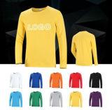 각종 색깔, 크기, 물자 및 디자인에 있는 긴 소매를 가진 주문 t-셔츠