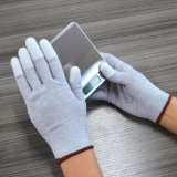 13 Antistatische ESD Pu van de Vezel van de Koolstof van de maat Hoogste Geschikte Handschoenen voor de Reparatie van de Computer