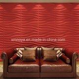 거실을%s 청각적인 내화성이 있는 방수 자주색 3D 벽면