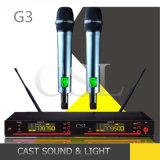 Microfono multifunzionale popolare della radio di frequenza ultraelevata di karaoke G3