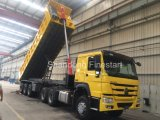 3개의 차축을%s 가진 세미트레일러 40 톤 덤프 트럭