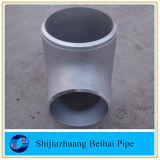 ANSI B16.9 la colocación de un tubo de acero inoxidable403 WP304L T recta