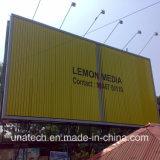 Supporto autoadesivo esterno della parete di Tri-Visione del vinile che fa pubblicità all'alluminio 3 un tabellone per le affissioni di tre media dei fronti