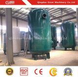 Druckluft-Becken als Zusatzmaschine für Blasformen-Maschine
