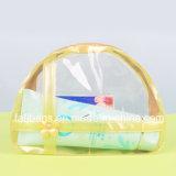 Bolsa de armazenamento de cosméticos de PVC para viagem