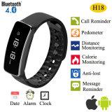 보수계 기능 (H18)를 가진 Bluetooth 4.0 지능적인 팔찌