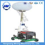 Hw-1000 gerador a diesel torre de luz móvel