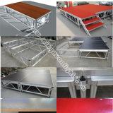 Вне помещений, алюминиевый регулируемые ступени