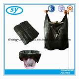 Saco de lixo plástico do HDPE do portador