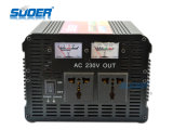 C.C. 12V de Suoer 3000W ao inversor solar da C.A. 220V com carregador (HAD-3000C)