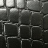 [سغس] تصديق حجارة حبة يكيّس حقيبة جلد [بفك] جلد