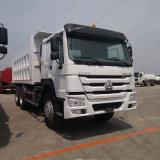 녹색 트럭 헤드 HOWO 6X4 덤프 트럭 371HP Sinotruk 쓰레기꾼 또는 팁 주는 사람