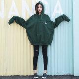 Gestickte Überformatfrauen-kundenspezifische Firmenzeichen-Sweatshirts mit Hauben (YK-12292)