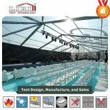 Alumínio e de lados do PVC multi barracas usadas para o banquete de casamento ao ar livre, grandes barracas dos eventos