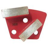 Этап диаманта прямоугольника влажный меля меля для меля чашки