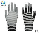 Вкладыш полиэфира 13 датчиков с перчатками безопасности PU Coated
