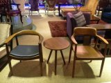 Luxushotel, das Möbel/Stuhl und Tisch für Stern-Hotel/neuen Entwurfs-Gaststätte-Möbel-/Esszimmer-Möbel-Set-/Hotelkaffee Stuhl und Tisch (GLDSD-005, speist)