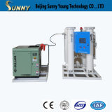 Equipos médicos de gas Tipo de oxígeno máquina de producción