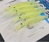 Glow Shrimp Fishing Hook Crochet de pêche avec ligne Fishing Tackle Fishing Lure