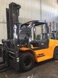 Vagone per il trasporto dei lingotti Elevateur camion di elevatore diesel di Forklifter di 7 tonnellate
