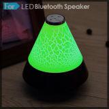 Alto-falante Bluetooth portátil sem fio com alto-falante LED subwoofer colorido