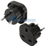 2014 alta qualità Plug BRITANNICO a CA Wall Universal Travel Power Socket Plug Adaptor dell'Ue Plug