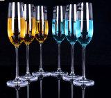高品質の透過Crytalガラスシャンペンのコップ