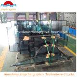 Vidro isolante curvos com a SGS/CCC/Certificação ISO para a janela/parede Cortina