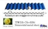 Farbe-Überzogenes gewölbtes Stahlblech